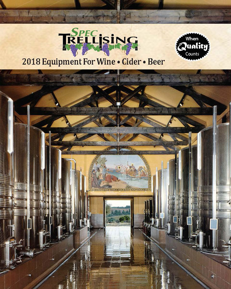 2016 Spec Trellising Winemaking Catalog