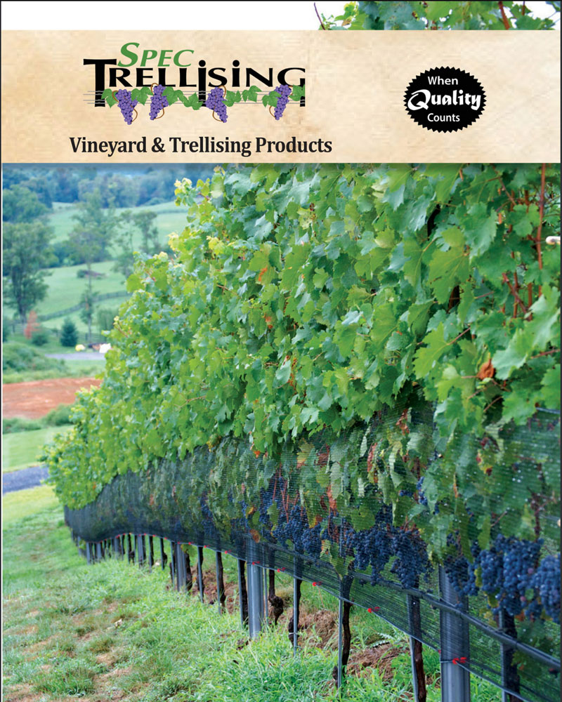 2019 Spec Trellising Vineyard Catalog
