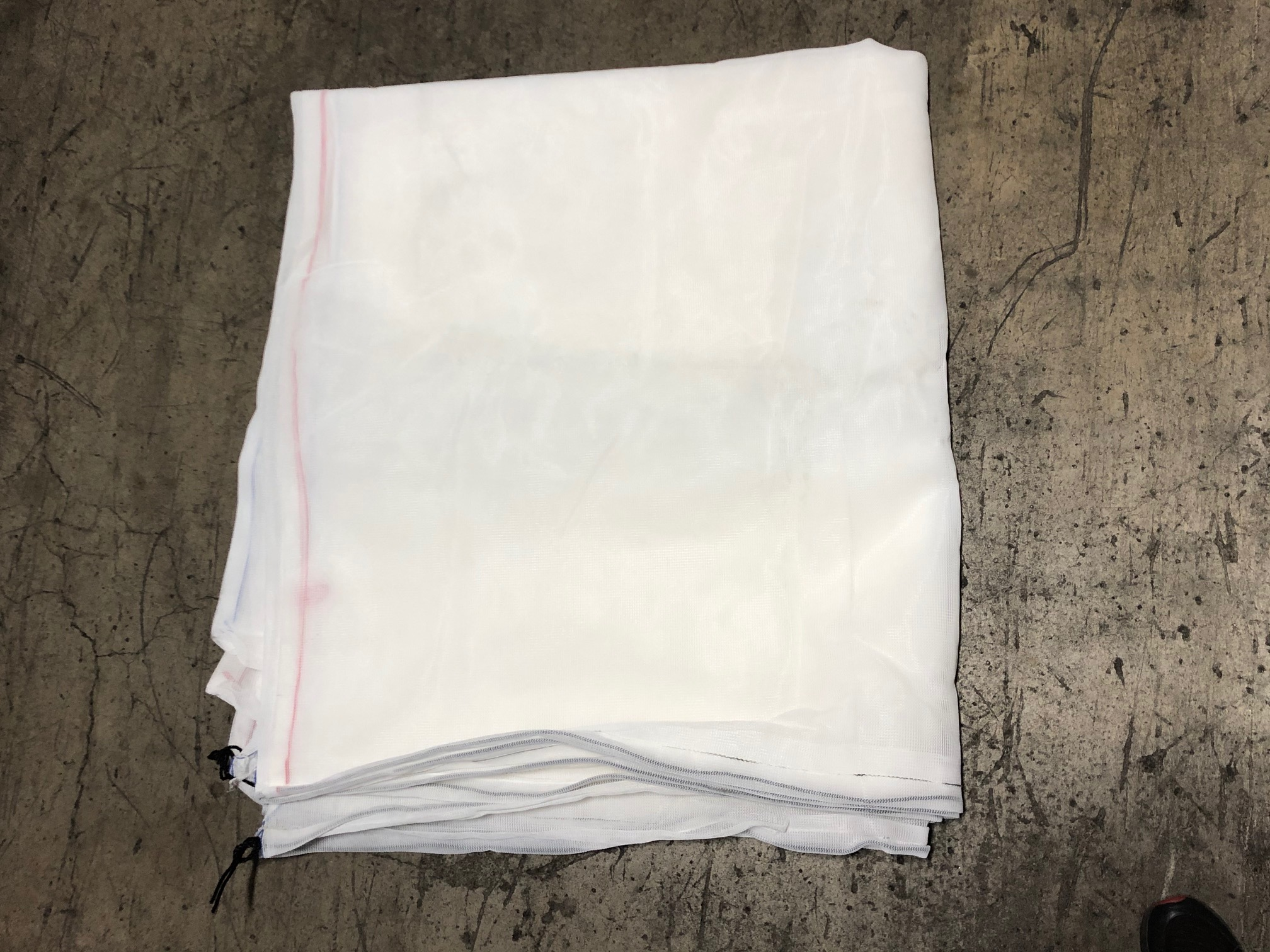 REPLACEMENT STORAGE BAG WHITE #1